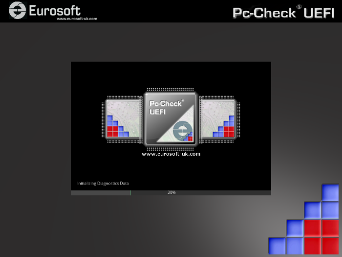 Pc-Check UEFI Splash Screen