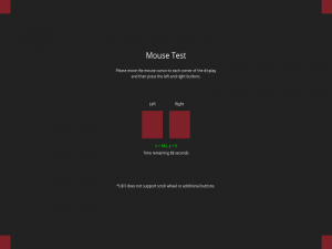 Mouse Testing