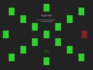 Touch Screen Test